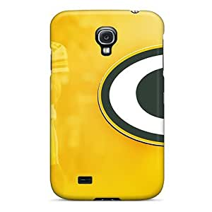 Durable Cases For The Galaxy S4- Eco-friendly Retail Packaging(green Bay Packers)