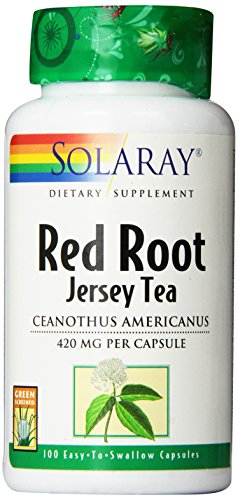 Solaray Red Root Capsules, 420 mg, 100 Count