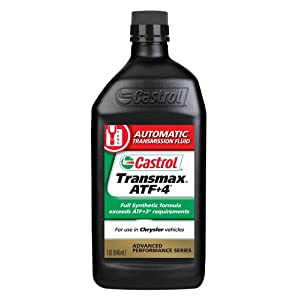 Castrol 6810 Transmax ATF +4, 1 Quart, Pack of 6