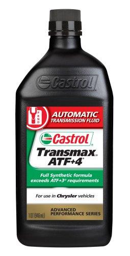 Castrol 6810 Transmax ATF +4, 1 Quart, Pack of 6 by Castrol
