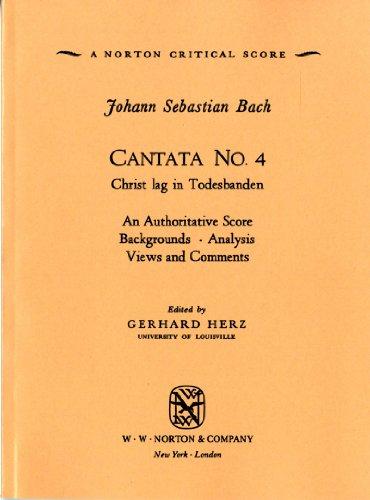Cantata No. 4 (Norton Critical Scores)