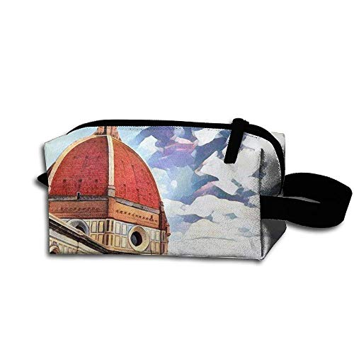 Makeup Cosmetic Bag Magnificent Buildings Scenery Medicine Bag Zip Travel Portable Storage Pouch For Mens Womens