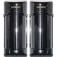 Seco-Larm Enforcer E-960-D190Q Twin Photobeam Detectors with Laser Beam Alignment, 190 foot range