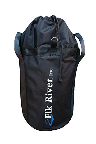"Elk River 84302 EZE Man Nylon Rope Bag with Drawstring Closure, 12"" Width x 12"" Depth"