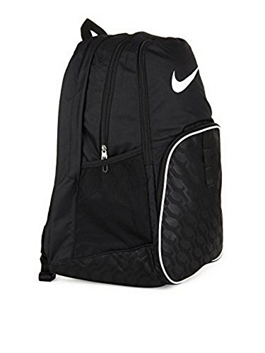 82a2676541 Amazon.com  The Nike Brasilia 6 XL Backpack Black Black White Size One  Size  Sports   Outdoors