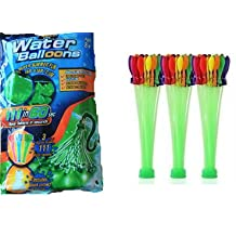 Niche Premium MAGIC WATER BALLOONS, pack of 111 made in 1 MINUTE, SELF-TIEING, BIODEGRADABLE, ECO-FRIENDLY!!!! Awesome fun for kids, friends, and family