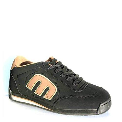 Etnies ETNIES Locut 2 Black Brown Green - Zapatillas de piel de cerdo para hombre Black Brown Green, color, talla 40