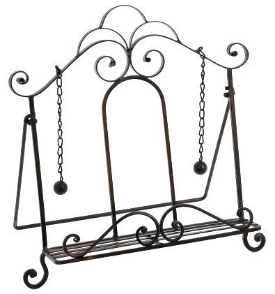Iron Cookbook Stand ~ Book Holder ~ Easel by Upper Deck