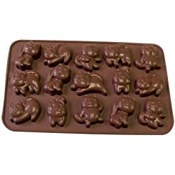 La Patisserie Silicone Chocolate Cat Molds