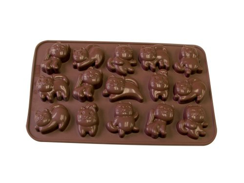 La Patisserie Silicone Chocolate Cat Molds