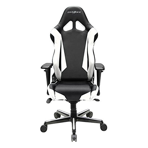 41sXTGpN17L - DXRacer OH/RV001/NW Ergonomic, High Quality Computer Chair for Gaming, Executive or Home Office Racing Series White / Black