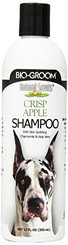 Bio-Groom Natural Scents Crisp Apple Scented Shampoo, 12-Ounce (Packaging may ()