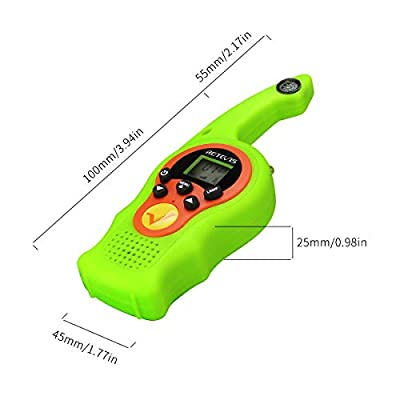 Retevis RT75 Compass Walkie Talkies for Kids Long Range 22CH Kids Walky Talky for Boys Girls 4-12 Years Old and Adults with Flashlight (Green, 2 Pack): Car Electronics