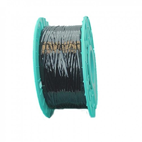 3,280 ft. Polycore Black Non-Metallic Twist Tie Ribbons (6 Spools) - 10-3280-Black by Miller Supply Inc