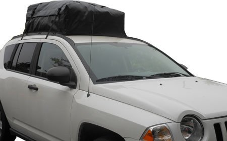 Premium Triple Seal for Maximum Protection Cross Bars or No Rack Made in USA RoofBag 100/% Waterproof Fits ALL Cars: With Side Rails Roof Bag includes Heavy Duty Straps 2 Year Warranty