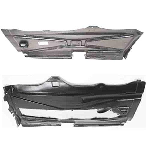 Koolzap For 97-03 5-Series Engine Splash Shield Under Cover Guard Left & Right Side PAIR SET