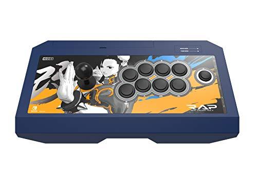 HORI Nintendo Switch Real Arcade Pro - Street FighterTM Edition (Chun-Li) Officially Licensed by Nintendo & Capcom