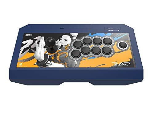 HORI Nintendo Switch Real Arcade Pro - Street FighterTM Edition (Chun-Li) Officially Licensed by Nintendo & Capcom - Hori Real Arcade Pro