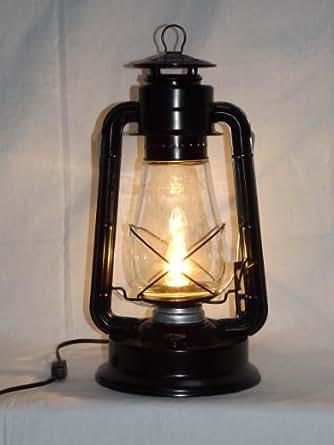Dietz Blizzard Vintage Style Electric Lantern Table Lamp