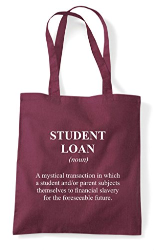 Shopper Definition Funny Loan Dictionary Tote Not Alternative In Student The Burgundy Bag Evqw5WSv