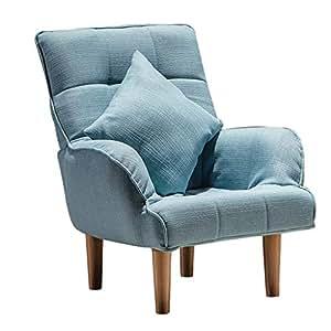 Amazon.com: Sofá plegable para ocio, tumbona reclinable ...