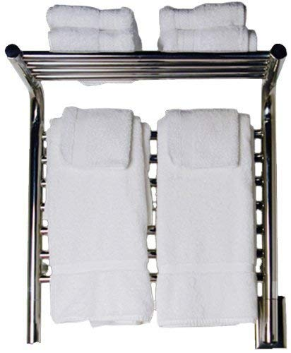 Amba MSB-20 20-1/2-Inch x 22-Inch Shelf Towel Warmer, Brushed by Jeeves ()