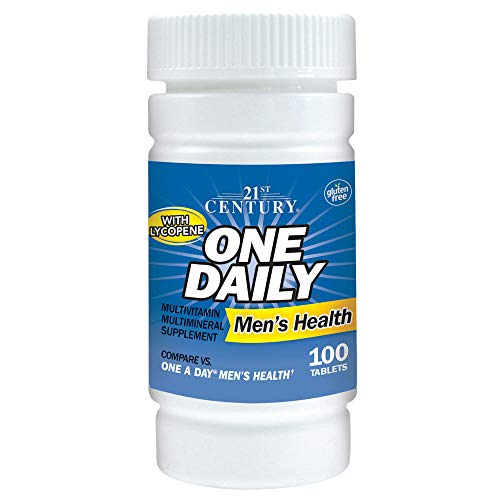 21st Century One Daily Men's Health Tablets, 100 -