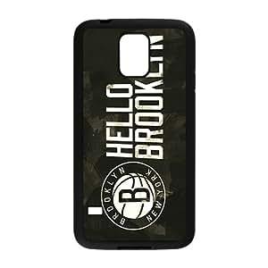 Brooklyn Nets NBA Black Phone Case for Samsung Galaxy S5 Case