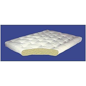 4 inch all cotton futon mattress 4 in queen 60 w x