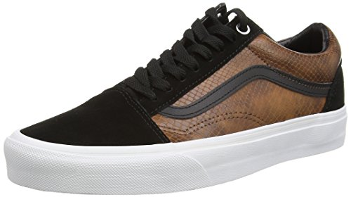 Vans U Old Skool - Zapatillas, Unisex Adulto Brown (Snake - Black/Brown)