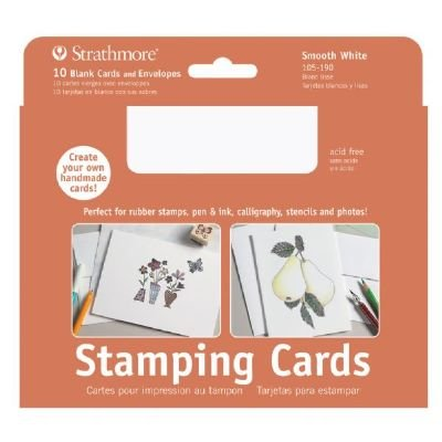 Strathmore ST105-190 Stamping Cards 10-Pack Full-size