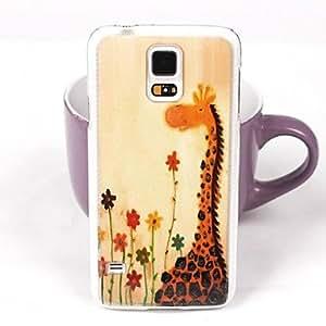 JJE Lovely Giraffe Pattern PC Back Case for Samsung Galaxy Note 4