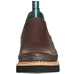 Georgia Boot Men\'s GR274 Giant Romeo Work Shoe, Soggy Brown, 10.5 M US