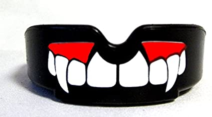 MMA Boxing.SENIOR FANGS Hockey inc Rugby NEW GUM SHIELD combat sports