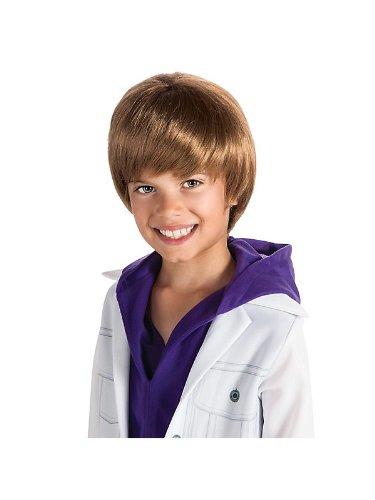 Justin Bieber Costume For Kids (Justin Bieber Fever Wig for)
