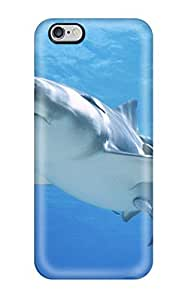 Hot Jaws Shark First Grade Tpu Phone Case For Iphone 6 Plus Case Cover by runtopwell