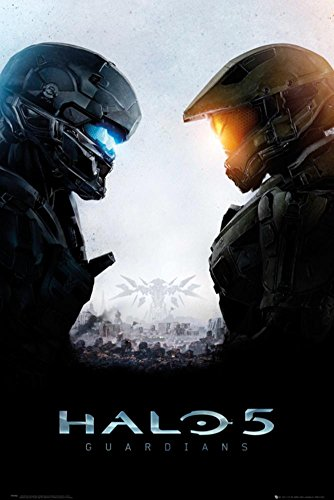 Halo 5 Guardians Poster