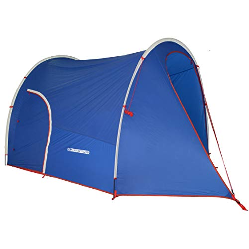 DL Adventure Dromedary EX2 Patent 2-Person Camping Tent, Lightweight/Small Pack Size, Ventilated/Waterproof/UV-Resistant/CPAI84 Certified Durable Fabric Rainfly Tent, Detachable Mesh Inner Tent