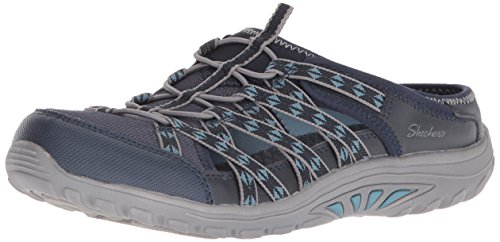 Skechers Damen Reggae Fest-Marlin Slip on Sneaker Navy