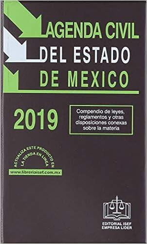 AGENDA CIVIL DEL ESTADO DE MEXICO 2019: EDICIONES FISCALES ...