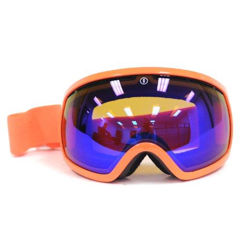 Electric Visual EG2 Salmonella/Bronze Blue Chrome Snow Goggle (Goggles Snow Eg2)