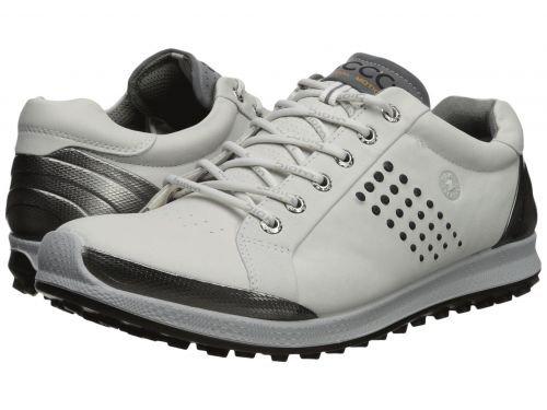 ECCO Golf(エコー ゴルフ) メンズ 男性用 シューズ 靴 スニーカー 運動靴 Biom Hybrid 2 Hydromax(R) - White/Black [並行輸入品] B07BMNSQB7 41 (US Men's 7-7.5) D - Medium