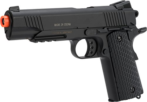 Evike Double Eagle M291 Full Metal 1911 Full Size Airsoft Spring Pistol by Evike