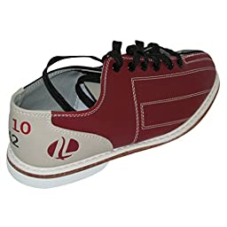 Linds Womens CRS Rental Bowling Shoes- Laces (5 1/2 M US, Red/Blue)