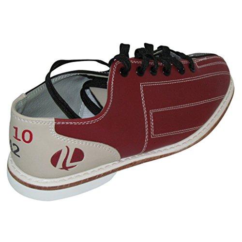 Linds Mujeres Crs Rental Bowling Zapatos- Cordones Rojo / Azul