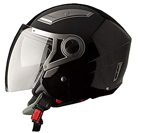 Black Metallic Large//Size BHR 93312 Flip-Up Helmet 59-60