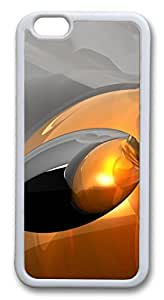 Abstract 3D Art Hd Custom iphone 4s Case Cover PC hard White