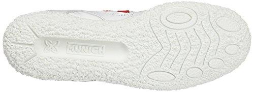 Munich Goal, Zapatillas para Mujer Blanco (Blanco)