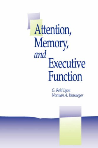 Attention, Memory, And Executive Function
