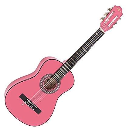 Guitarra Española Junior 1/2 de Gear4music - Rosa